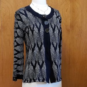 Adorable Large Button + Open Lightweight Sweater